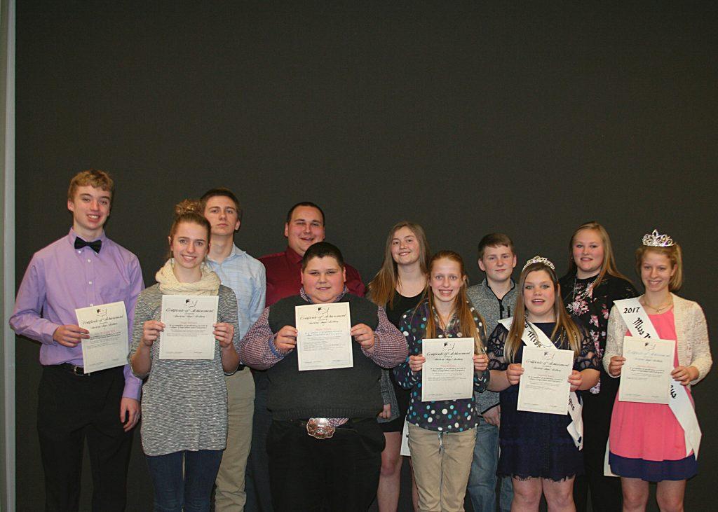 michigan angus certificates of achievement awards